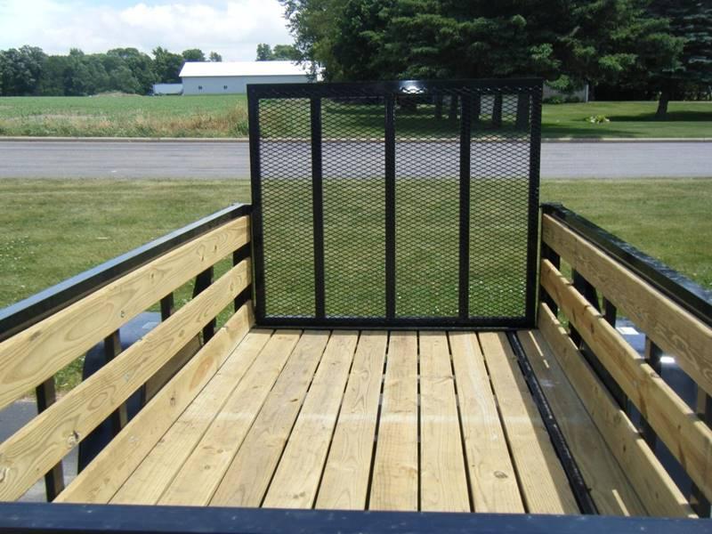 2017 Quality Steel 2990# 5x10 High Side Woody #473 - Loyal WI
