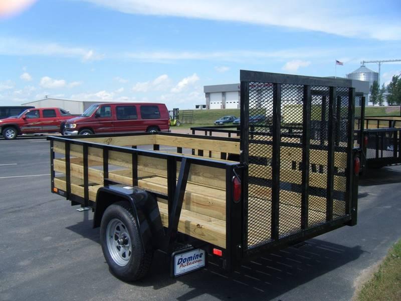 2017 Quality Steel 5x8 High Side Woody #478 - Loyal WI