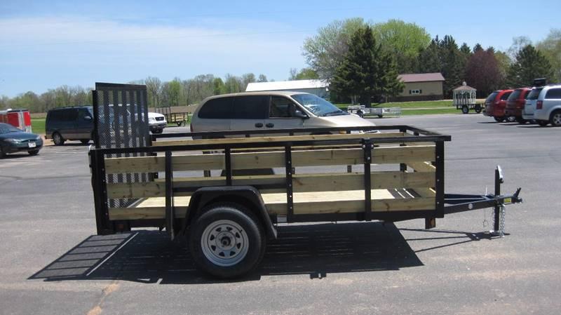 2017 Quality Steel 2990# 5x8 High Side Woody #485 - Loyal WI