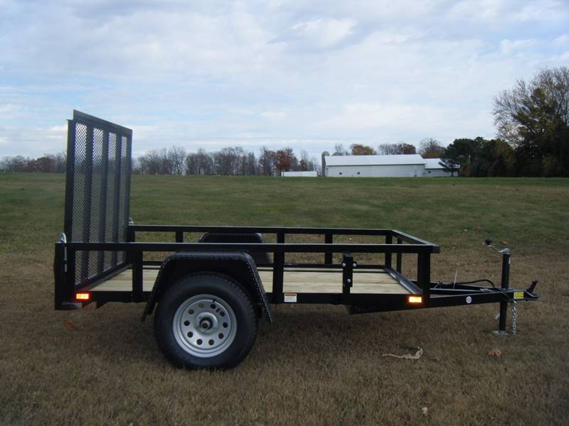 2017 Quality Steel 5x10 2990# Landscape Trailer #481 - Loyal WI