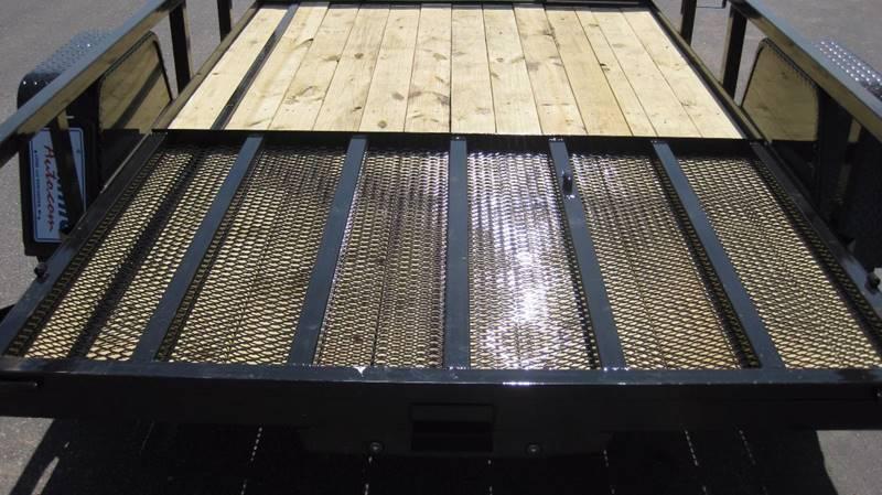 2017 Quality Steel 2990# 74x10 Utility Trailer #482 - Loyal WI