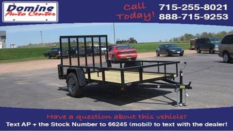 2017 Quality Steel 74x12 2990# Landscape Trailer