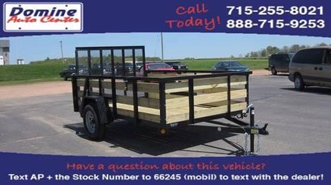 2017 Quality Steel 2990# 74x10 High Side Woody