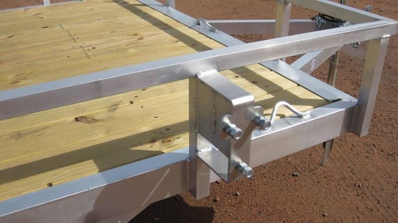 2017 Quality Steel 74x10 2990# Aluminum Landscape #489 - Loyal WI