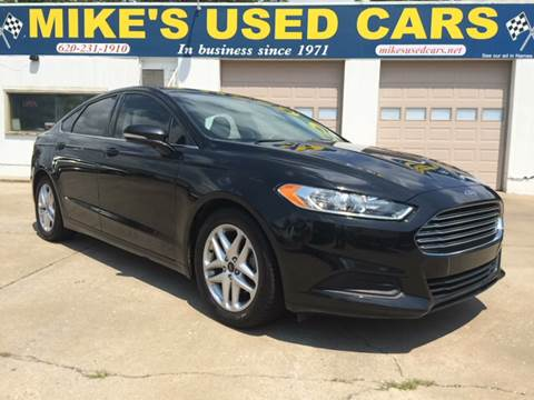 2015 Ford Fusion for sale in Pittsburg, KS