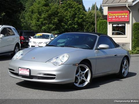 2002 Porsche 911 for sale in Redmond, WA