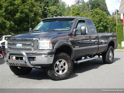 2005 Ford F-250 Super Duty for sale in Redmond, WA