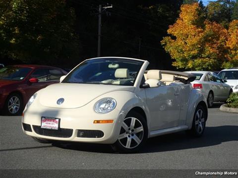 2006 Volkswagen New Beetle for sale in Redmond, WA