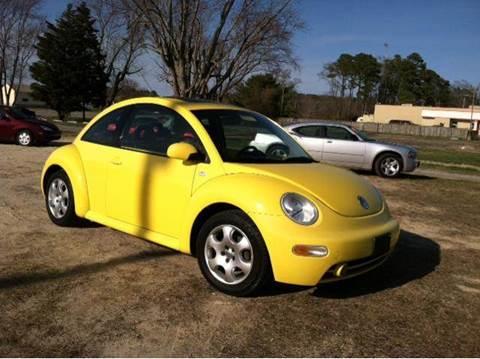 2002 Volkswagen Beetle for sale in Newark, MD