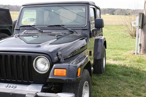 2005 Jeep Wrangler for sale at Shoreline Auto Sales LLC in Berlin MD