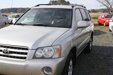 2003 Toyota Highlander for sale in Newark, MD