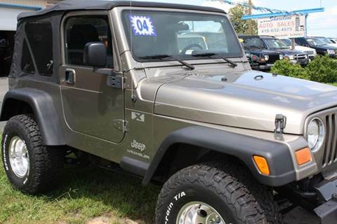 2004 Jeep Wrangler for sale at Shoreline Auto Sales LLC in Berlin MD