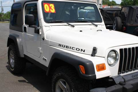 2003 Jeep Wrangler for sale in Newark, MD