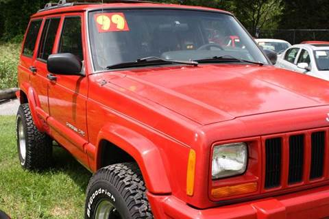 1999 Jeep Cherokee for sale at Shoreline Auto Sales LLC in Berlin MD