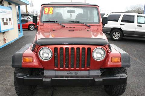 1998 Jeep Wrangler for sale at Shoreline Auto Sales LLC in Berlin MD