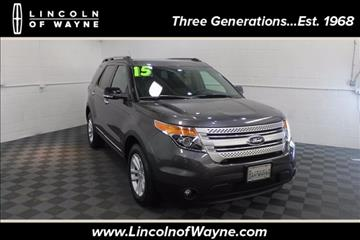 2015 Ford Explorer for sale in Wayne, NJ