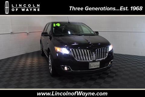 2014 Lincoln MKX for sale in Wayne, NJ