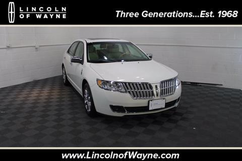 2012 Lincoln MKZ for sale in Wayne, NJ