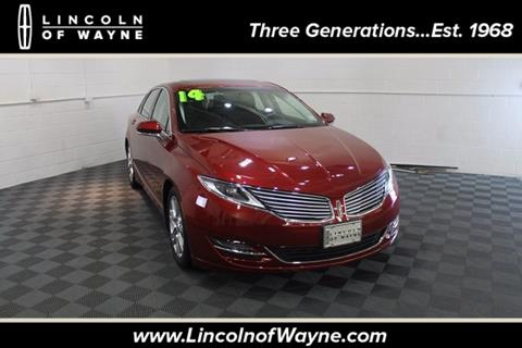 2014 Lincoln MKZ for sale in Wayne NJ