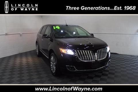 2014 Lincoln MKX for sale in Wayne NJ