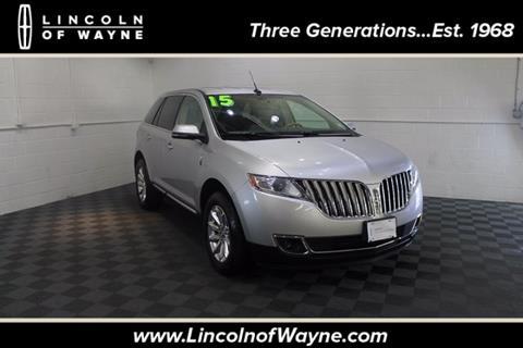 2015 Lincoln MKX for sale in Wayne, NJ