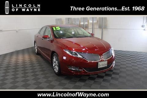 2015 Lincoln MKZ for sale in Wayne, NJ