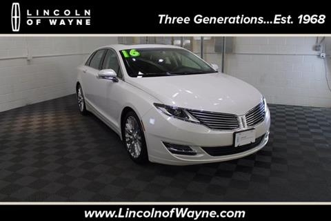 2016 Lincoln MKZ for sale in Wayne NJ
