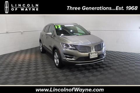 2017 Lincoln MKC for sale in Wayne NJ