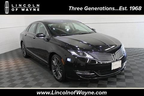 2015 Lincoln MKZ for sale in Wayne NJ