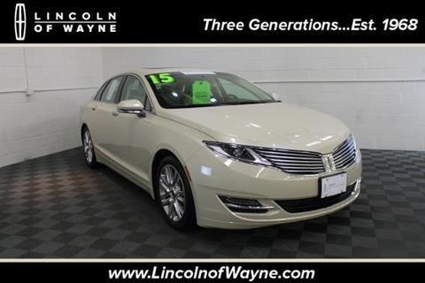 2015 Lincoln MKZ for sale in Wayne NJ