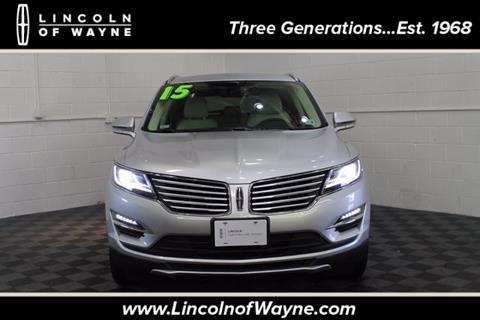 2015 Lincoln MKC for sale in Wayne, NJ