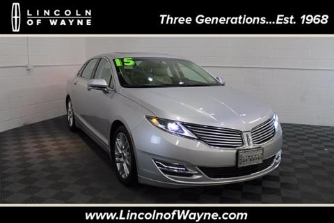 2015 Lincoln MKZ for sale in Wayne, NJ