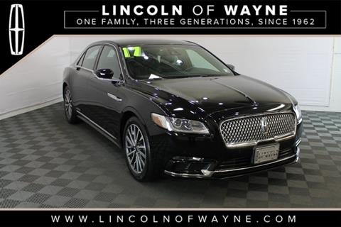 2017 Lincoln Continental for sale in Wayne, NJ