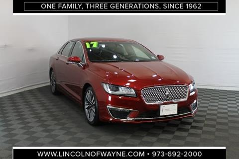 2017 Lincoln MKZ for sale in Wayne, NJ