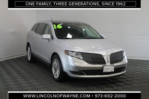 2016 Lincoln Mkt >> 2016 Lincoln Mkt For Sale In Wayne Nj