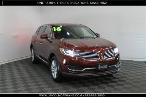 2016 Lincoln MKX Premiere for sale at Lincoln of Wayne in Wayne NJ