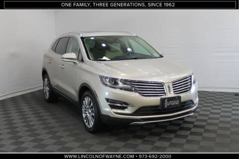 2017 Lincoln MKC Reserve for sale at Lincoln of Wayne in Wayne NJ