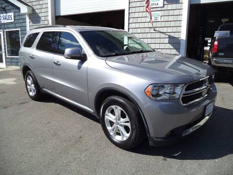 2013 Dodge Durango for sale in Kingston, NH