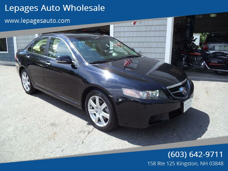 Acura TSX In Kingston NH Lepages Auto Wholesale - Acura 2005 tsx for sale