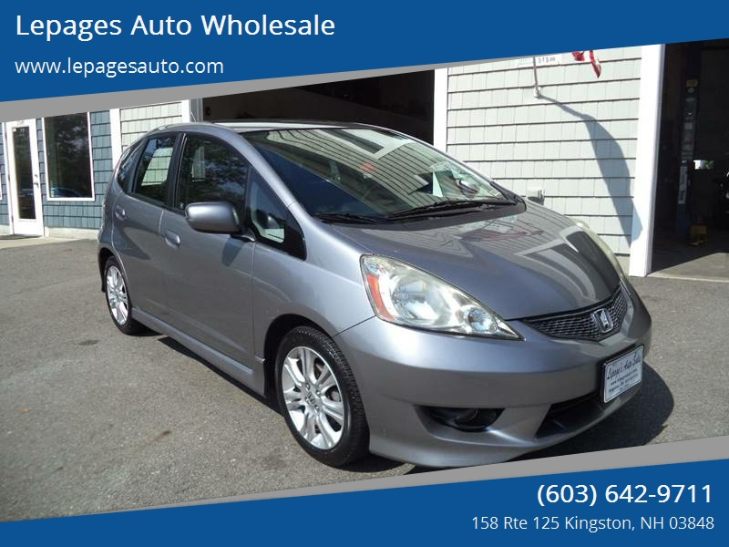 2009 Honda Fit For Sale At Lepages Auto Wholesale In Kingston NH