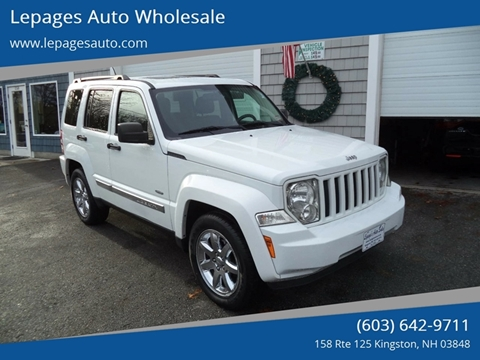 2012 Jeep Liberty for sale in Kingston, NH