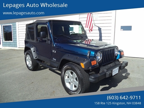 2005 Jeep Wrangler for sale in Kingston, NH