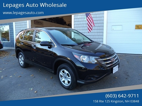 2012 Honda CR-V for sale in Kingston, NH