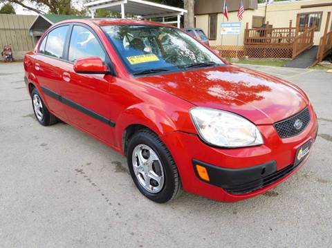 2009 Kia Rio for sale at Midtown Motor Company in San Antonio TX