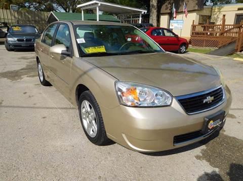 2006 Chevrolet Malibu for sale at Midtown Motor Company in San Antonio TX