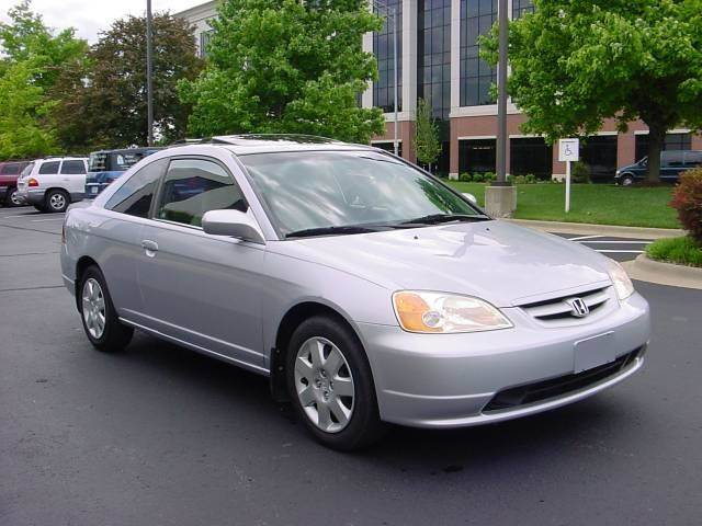 2001 Honda Civic EX 2dr Coupe   Springfield MO