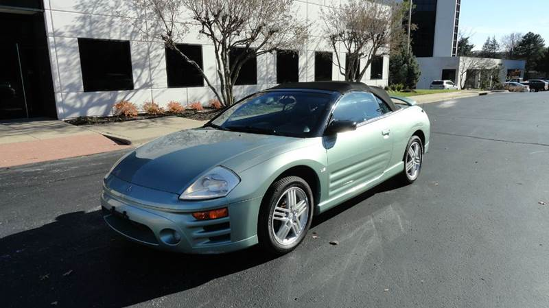 2003 Mitsubishi Eclipse Spyder Gt 2dr Convertible In Springfield Mo