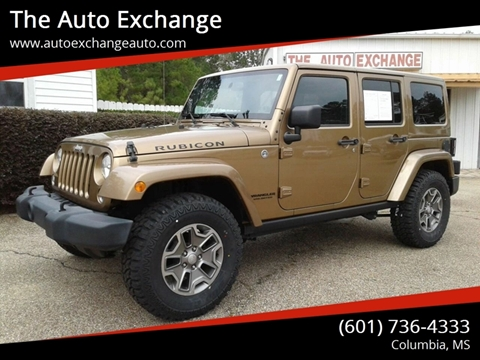2015 Jeep Wrangler Unlimited for sale in Columbia, MS