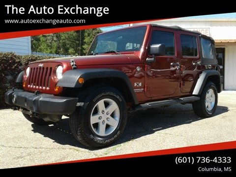2008 Jeep Wrangler Unlimited for sale in Columbia, MS