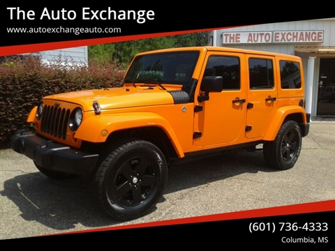 2012 Jeep Wrangler Unlimited for sale in Columbia, MS
